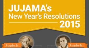 JUJAMA's New Year's Resolutions 2015