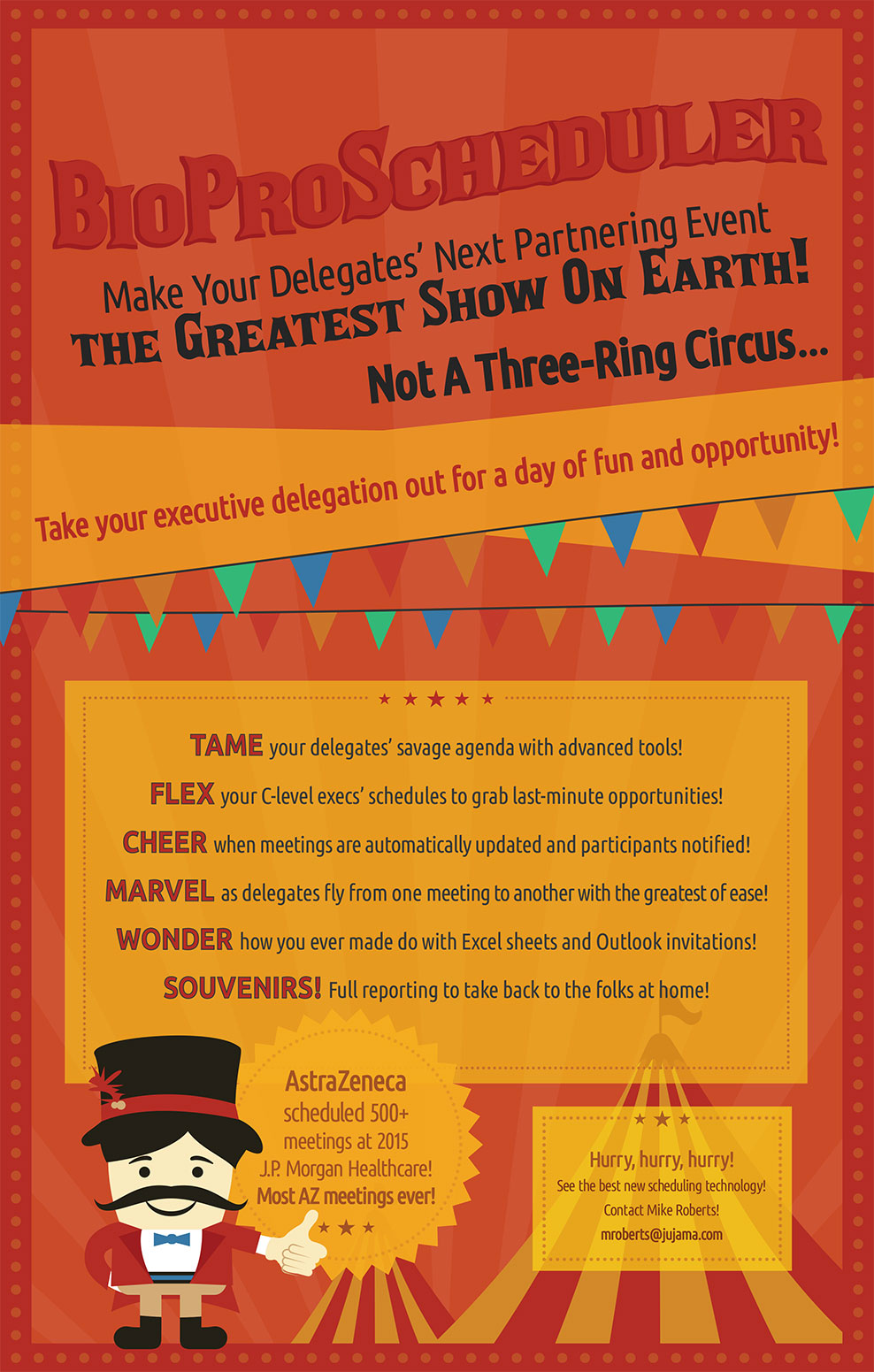 Take your executive delegation out for a day of fun and opportunity!