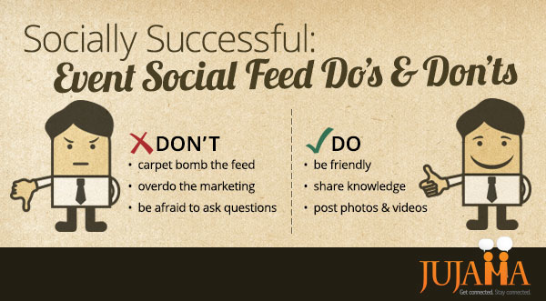 Socially Successful: Event Social Feed Do's & Don'ts