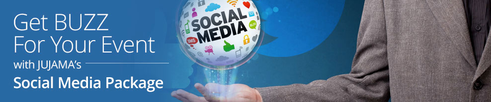 Get Buzz for Your Event with JUJAMA's Social Media Package